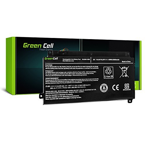 Green Cell® PA5208U-1BRS Laptop Akku für Toshiba Satellite Radius 14 E45W L40DW L40W 15 P50W P55W, Satellite Fusion 15 L55W, Toshiba ChromeBook 2 CB30-B (Li-Polymer Zellen 3400mAh 10.8V Schwarz)