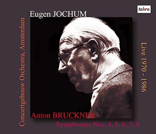 ブルックナー : 交響曲 第4番 5番 6番 7番 8番 (Anton Bruckner : Symphonies Nos. 4, 5, 6, 7, 8 / Eugen Jochum & Concertgebouw Orchestra, Amsterdam) [Live 1970 - 1986] [6CD] [日本語帯・解説付]