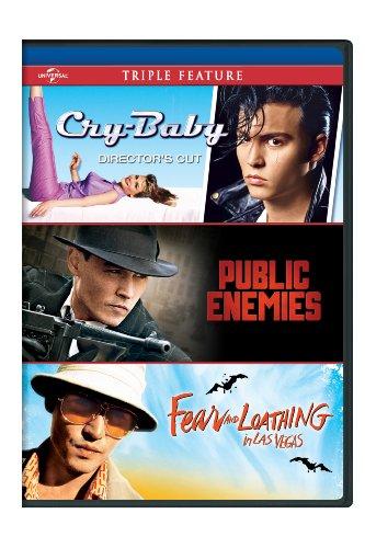 Cry-Baby / Public Enemies / Fear & Loathing (3pc) [DVD] [Region 1] [NTSC] [US Import]