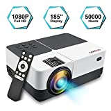 Proyector Portátil, GEARGO Mini Proyector Full HD 1080P 2800 Lúmenes, Multimedia Home Theater...