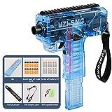 Xingqijia Soft Bullet Darts Gun Rifle Kids Toy Gun Plastic Weapon War Game Outdoor Game Live CS Automatic Shooting Toys Gun for Boys Adult (Blue)