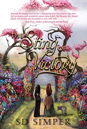 The Sting of Victory: A Dark Fantasy Lesbian Romance (Fallen Gods Book 1)