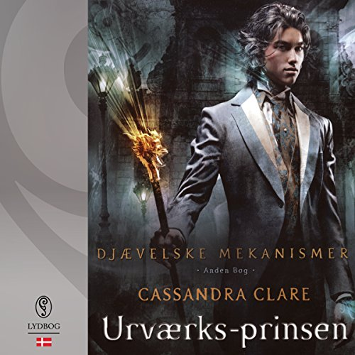 Urværks-prinsen audiobook cover art