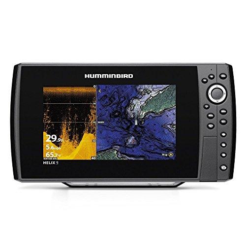 "Humminbird Helix Di GPS G2N Digital Chirp Bluetooth Sonar, Black, 9"""