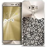 Caseink - Coque Housse Etui pour ASUS Zenfone 3 ZE552KL (5.5) [Crystal Gel HD Collection Spring...