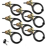 Master Lock - Python Adjustable Camouflage Cable Locks #8418KA CAMO 8pk (8) PackageQuantity: 8 Model: #8418KACAMO