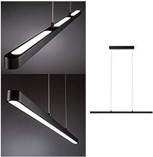 Paulmann 79694 luminaires en suspension LED Lento incl. 1x43watts gradable lampe suspendue Noir éclairage de plafond alum...