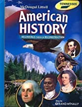 McDougal Littell Middle School American History: Student Edition Grades 6-8 Beginnings Through Reconstruction 2008