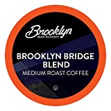 Brooklyn Beans Brooklyn Bridge Blend Coffee Pods, Compatible with 2.0 K-Cup Brewers, 40 Count