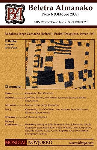Beletra Almanako 6 (Ba6 - Literaturo En Esperanto) (Esperanto Edition) (Paperback)
