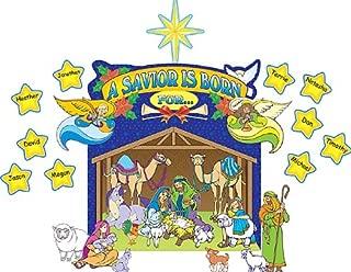Teacher Created Resources Nativity Scene Bulletin Board Display Set (7026)