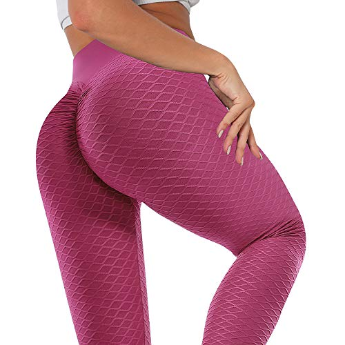 MANIFIQUE Anti-Cellulite Yogahosen Damen Gym Leggings Hohe Taille Sporthose Blickdicht Fitnesshose Sport Tights für Training Push Up Streetwear mit Bauchkontrolle