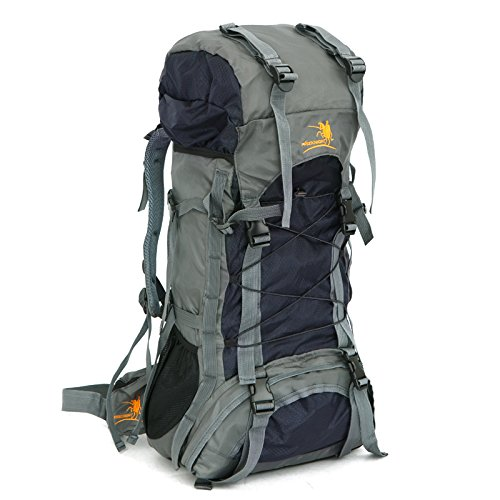 Free Knight 60L Internal Frame Backpack Hiking Travel Backpack Camping Rucksack...