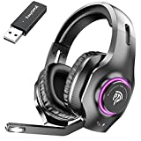 Best Ps4 Wireless Headsets - EasySMX Wireless Gaming Headset 2.4GHz with 7.1 Surround Review