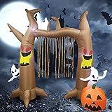 cineman Halloween Figur Horror Deko, Aufblasbare Ghost Doll Venues Dekorative Requisiten Für Garten Party, 2.4m