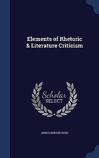Elements of Rhetoric & Literature Criticism