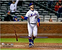 "Pete Alonso New York Mets Autographed 16"" x 20"" Bat Drop Photograph - Fanatics Authentic Certified - Autographed MLB Photos"