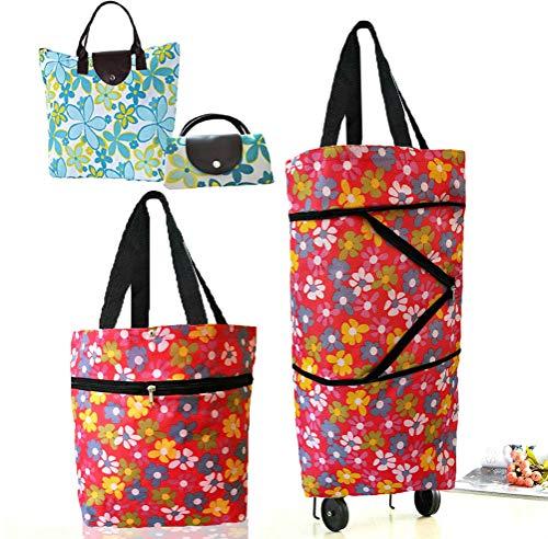 shopping trolley bag on wheels - 4