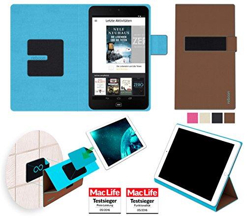 Hülle für tolino tab 8 Tasche Cover Case Bumper | in Braun | Testsieger