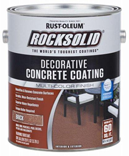 RUST-OLEUM 306264 306264 Gallon Brick Concrete Coating, 10 Pound (Pack of 1)