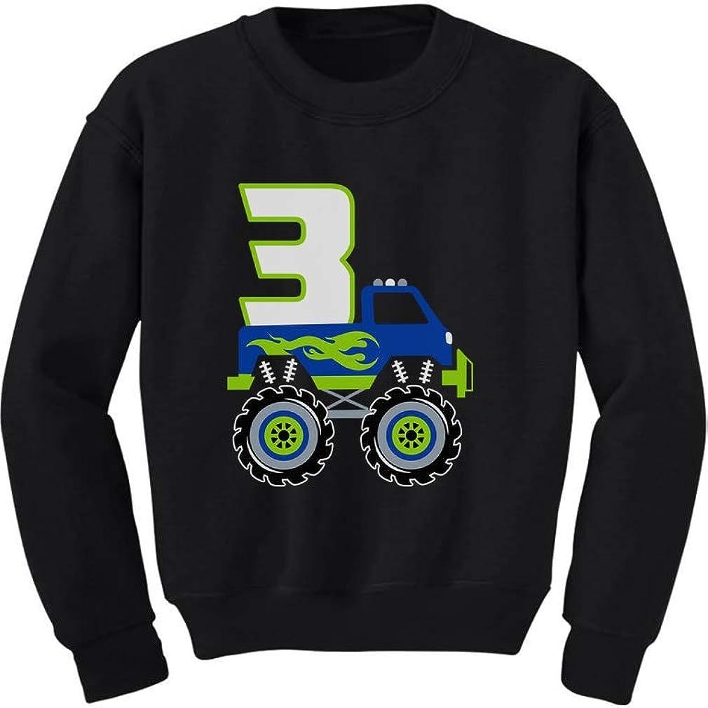 Birthday Boy Gift for Boys Big Truck Birthday ToddlerKids Sweatshirt