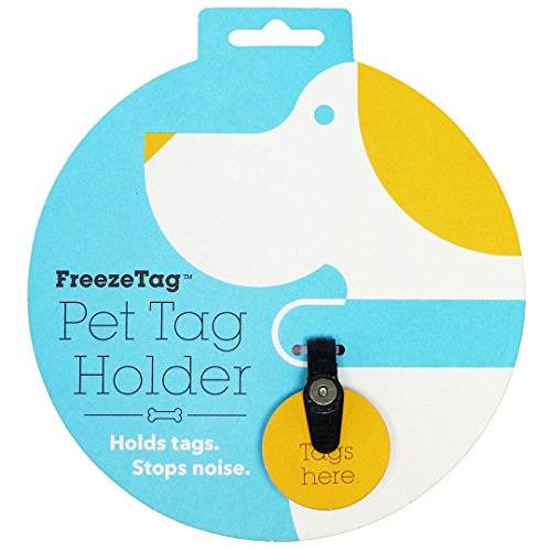 FreezeTag Dog Tag Silencer and Connector, One Size, Graphite