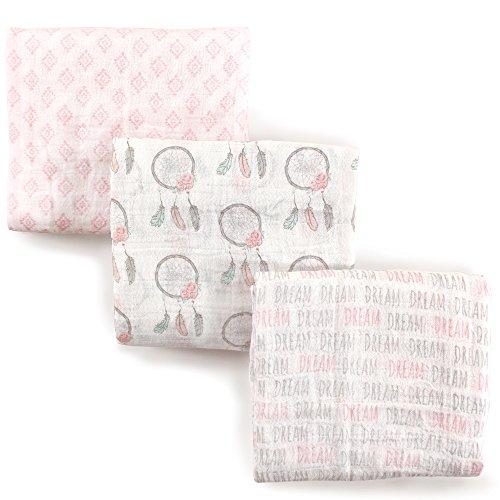 Hudson Baby Muslin Swaddle Blankets, Dream Catcher