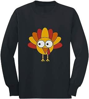 Little Turkey Thanksgiving Cute Unisex Long Sleeve Kids T-Shirt