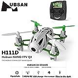 Hubsan H111D Nano Q4 Mini Quadricotteri FPV 5.8GHz Fotocamera 480P con Telecomando