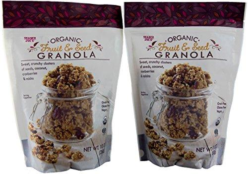 Organic Gluten Free Fruit and Seed Granola - Trader Joe