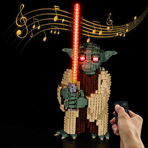 DAN DISCOUNTS LED Beleuchtung Kit für LEGO Yoda 75255 Bausteinen Modell - Ohne Lego Set