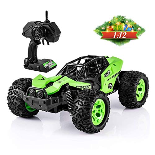 FYRMMD 1:12 4WD RC Trucks, All Terrain High Speed ​​Buggy 4x4 Control Remoto Rock Crawler Cars 2.4Ghz Strong Powe (Coche de Control Remoto)