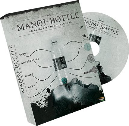 THE LORD OF THE MAGIC Manoj Bottle (DVD & Gimmicks) by Manoj Kaushal - Trick , Truco de Magia