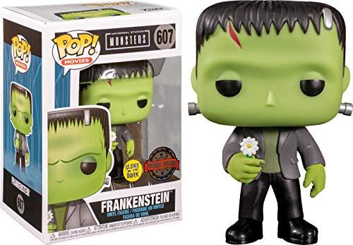 Funko Pop! Universal Monsters Frankenstein Exclusivo Glow in The Dark GITD