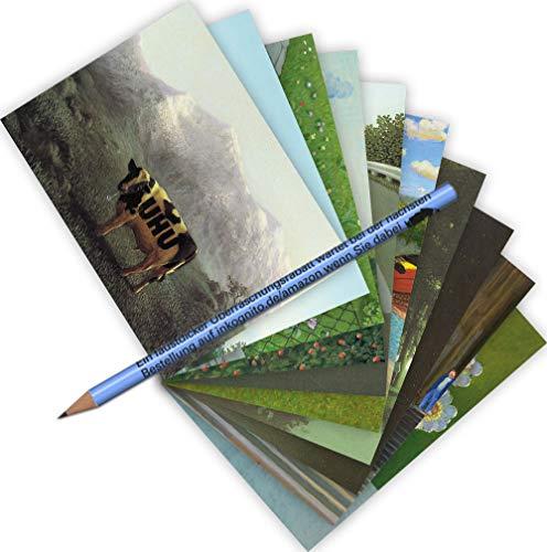 10-er Set Postarten A6 • MIX-0918 ''Postkarten-Set Michael Sowa'' von Inkognito • Künstler: INKOGNITO