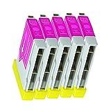 5 Druckerpatronen Tinte für Brother DCP 130C SCP 135C DCP 330C MFC 235C ersetzen LC970 LC1000