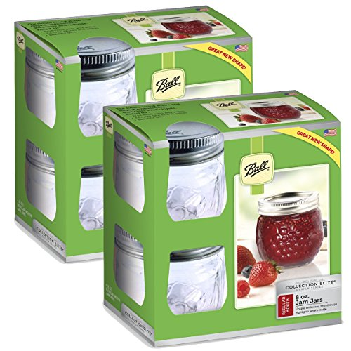 Ball 8-Ounce Glass Jars (half pint)