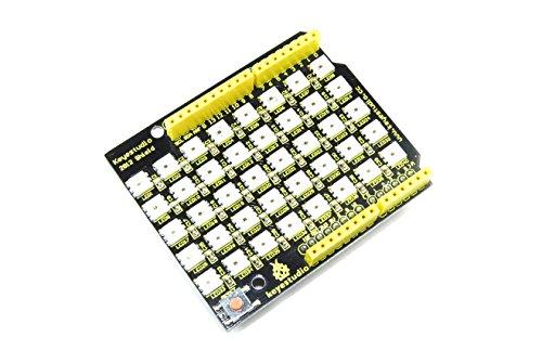 Keyestudio Arduino UNO WS2812 8x5 RGB LED Display Shield KS-163