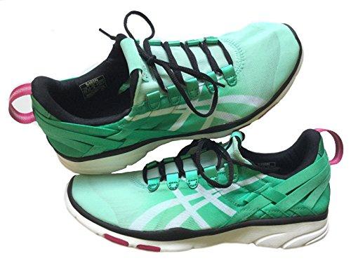 Asics Gel-Fit Sana Women's Training shoes, Mint/White/Black, S465N-7001, 35.5 EU