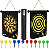 ENAPA Magnetic Dart Board for Kids - Safe Magnetic Darts - Outdoor and Indoor...