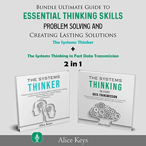 2 in 1 Bundle Ultimate Guide to Essential Thinking Skills, Problem Solving and Creating Lasting Solutions Titelbild