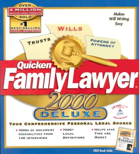 Quicken Family Lawyer 2000 Deluxe product image