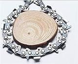 Nologo Catene Chainsaw 16-inch .325' Passo 0,058' Gauge 66Drive Link, Completa di Perforazione Catene di Taglio, utilizzato su Gasoline Chainsaw for Oleo-Mac Sostituzione Elettrico Chainsaw