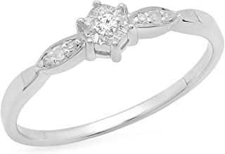 Best small diamond promise ring Reviews