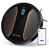 Coredy R580 Robot Vacuum Cleaner, Wi-Fi, App Controls, 2000pa High Suction, 3-in-1 Convertible Sweeping, Vacuuming and Mopping Robot Hoover, Virtual Boundary Supported, Multiple Cleaning Schedules
