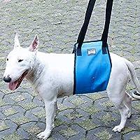 nikka(日華)リフトハーネス 歩行補助ハーネス 歩行補助ベルト リハベルト 老犬の介護 アニフル 介護用品 ブルー Mサイズ