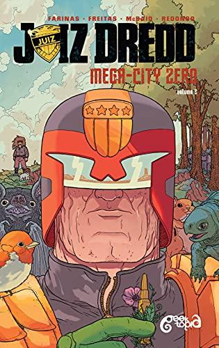 Juiz Dredd Mega-City Zero - Volume 2 (Portuguese Edition)