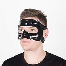 چنچن محافظ بینی محافظ، ماسک محافظ L2 سیاه و سفید با پوشش سیلیکون