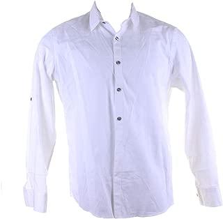 Alfani Mens Mathenson Button Up Shirt
