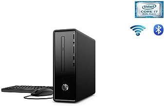 HP Flagship Slimline Business Desktop   Intel Quad-Core i7-8700 3.2GHz   8GB DDR4   1TB HDD   DVDRW   HDMI   WLAN   Bluetooth   Mouse&keyboard   Win 10